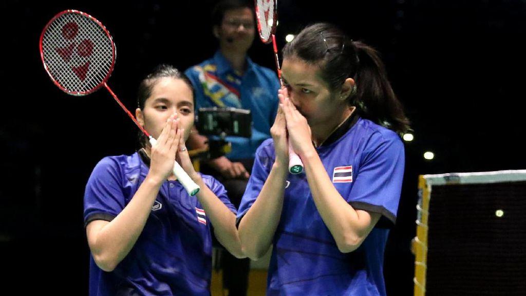 Kalahkan Malaysia, Thailand Juara Bulutangkis Beregu Putri