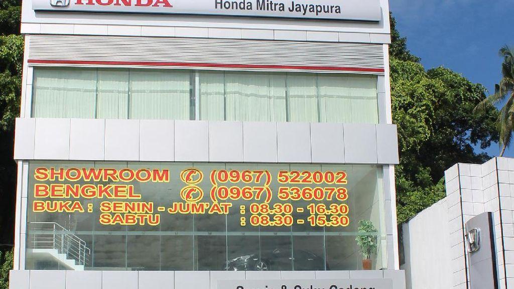 Honda Kepakkan Sayap ke Papua