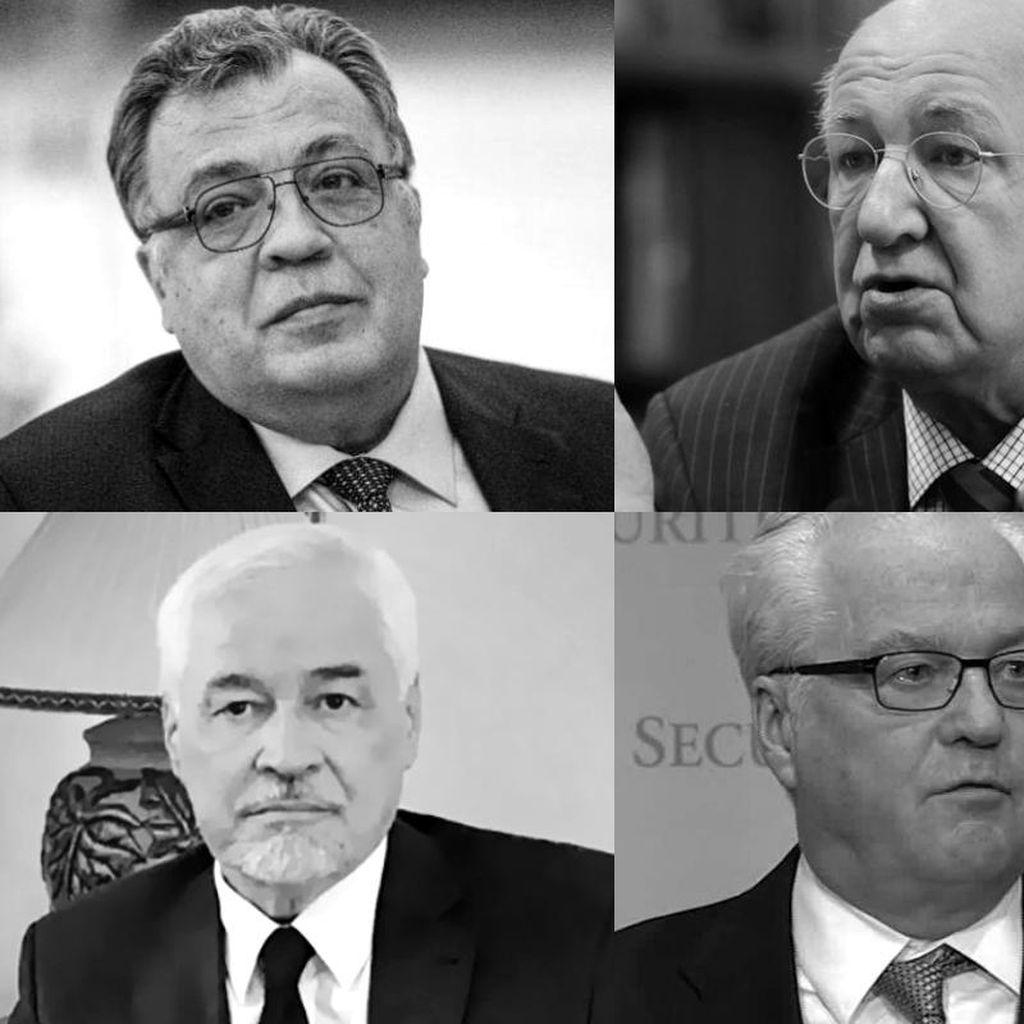 Dubes-Dubes Rusia yang Meninggal dalam 8 Bulan Terakhir