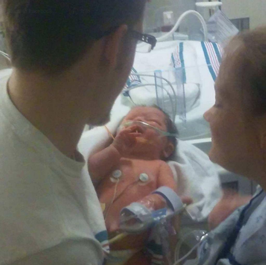 Ini Foto Bayi yang Ada Penampakan Yesus di USG-nya