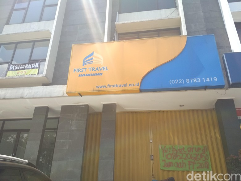 Kantor First Travel Bandung Tutup Sejak Dua Minggu