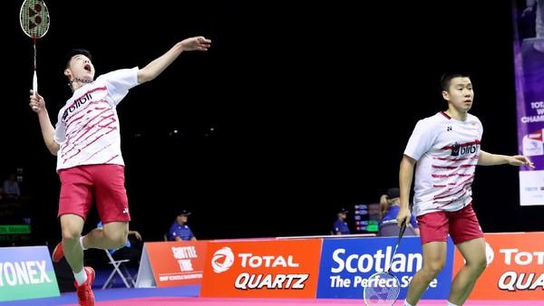 Marcus/Kevin dan Ahsan/Rian ke Perempatfinal, Angga/Ricky Terhenti