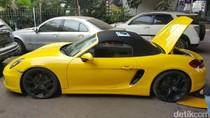 Ini Porsche Kuning Blokiran KPK yang Ditilang Polisi