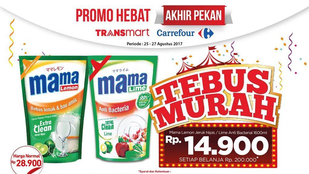 Tebus Murah Sabun di Promo Akhir Pekan Transmart Carrefour
