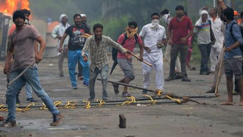 Kerusuhan Usai Sidang Guru Spiritual India, 524 Orang Ditangkap