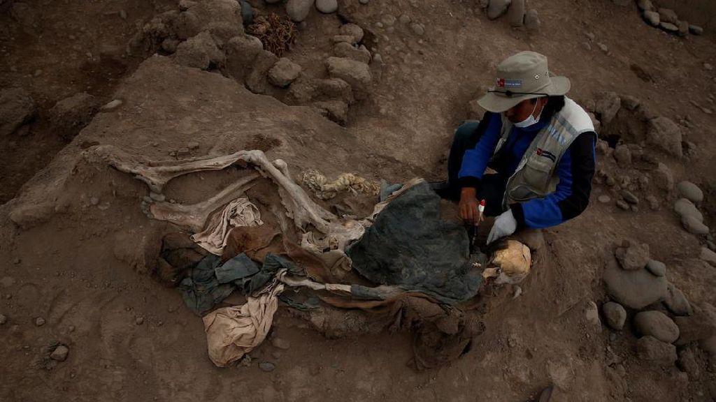 Foto: Mengejutkan! Mumi Orang China Ditemukan di Peru