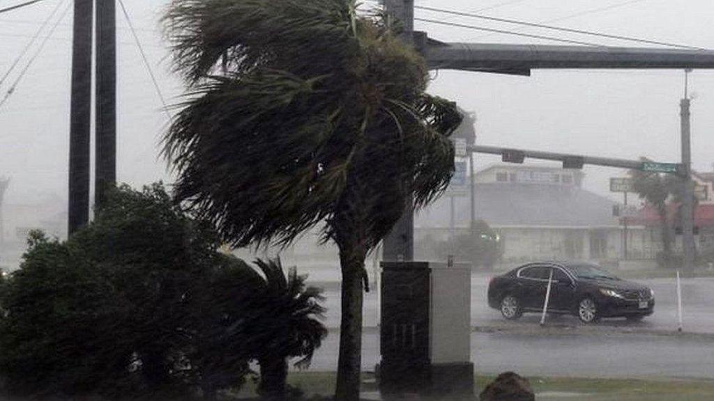 Badai Harvey Terjang Texas, Trump Umumkan Status Bencana Nasional