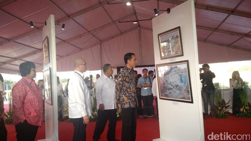 Jokowi Akui Banyak Proyek Infrastruktur Terkendala Lahan