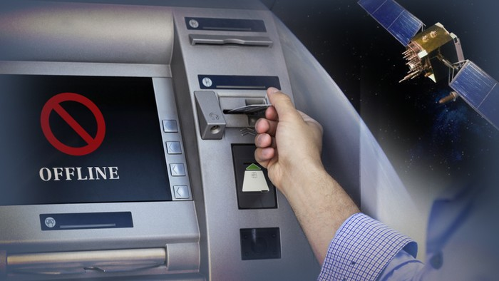 Ilustrasi ATM offline (Infografis: Andhika Akbarayansyah/detikcom)