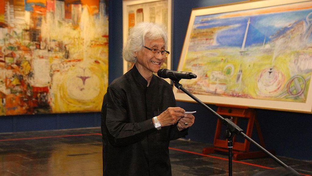 Srihadi Soedarsono Tulis Buku Soal Lukisan-lukisan Landscape