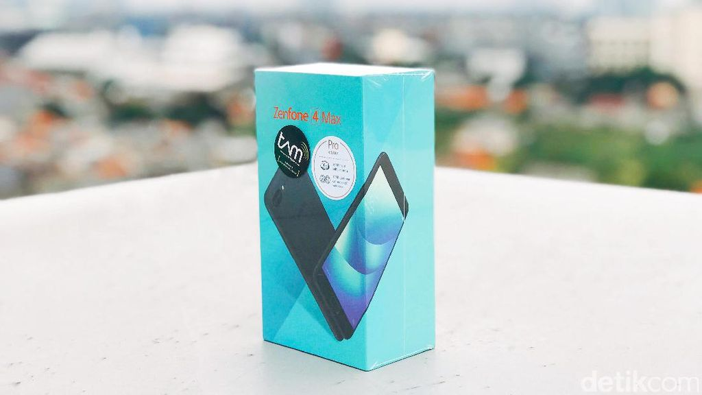 Unboxing Asus Zenfone 4 Max Pro