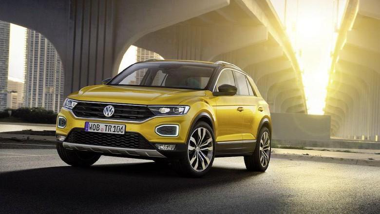 Volkswagen T-Roc, Siap Tantang Honda HR-V dan Mazda CX-3