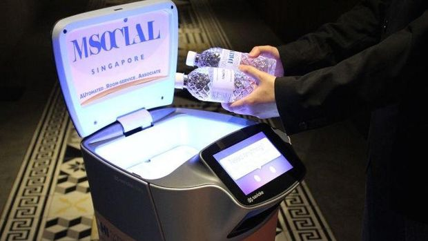 Pengantaran kebutuhan pelanggan akan lebih efisien (CNN Travel)