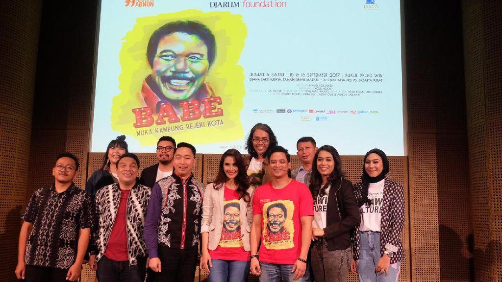 Pentas Babe, Muka Kampung Rejeki Kota Tampilkan Gambang Kromong dan Orkestra