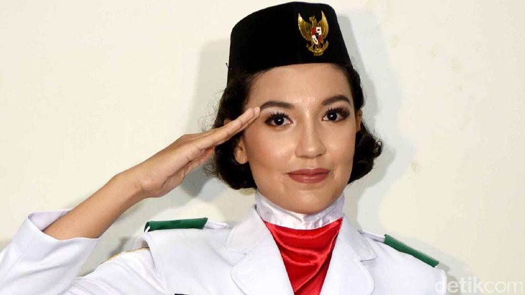 Adik Tsania Marwa yang Jadi Paskibraka Cantik Banget Juga Lho!
