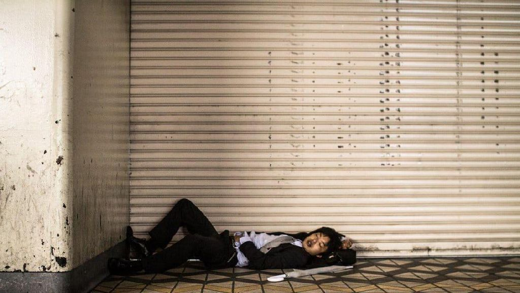 Potret Karyawan di Jepang Jadi Gelandangan Setelah Bekerja