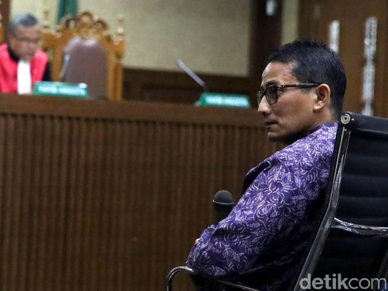 Sandiaga Bantah Tudingan Nazaruddin soal Kepemilikan PT DGI
