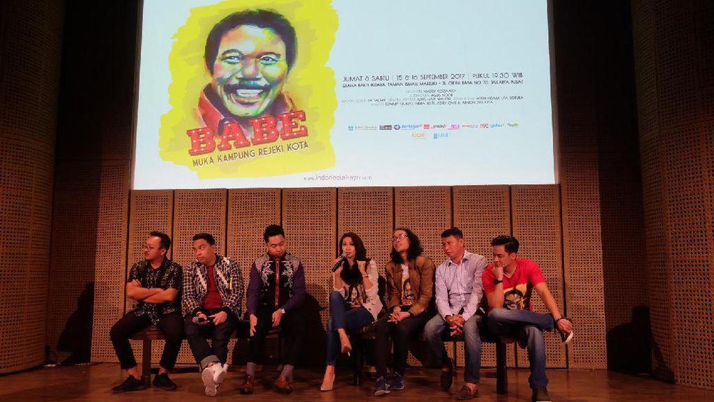 Jantuk Khas Betawi Ada di Pertunjukan Babe, Muka Kampung Rejeki Kota
