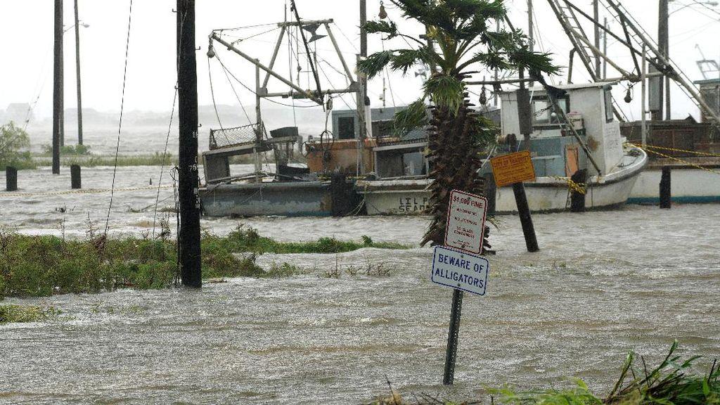Badai Irma Terjang Kepulauan Karibia, Sejumlah Bangunan Rusak