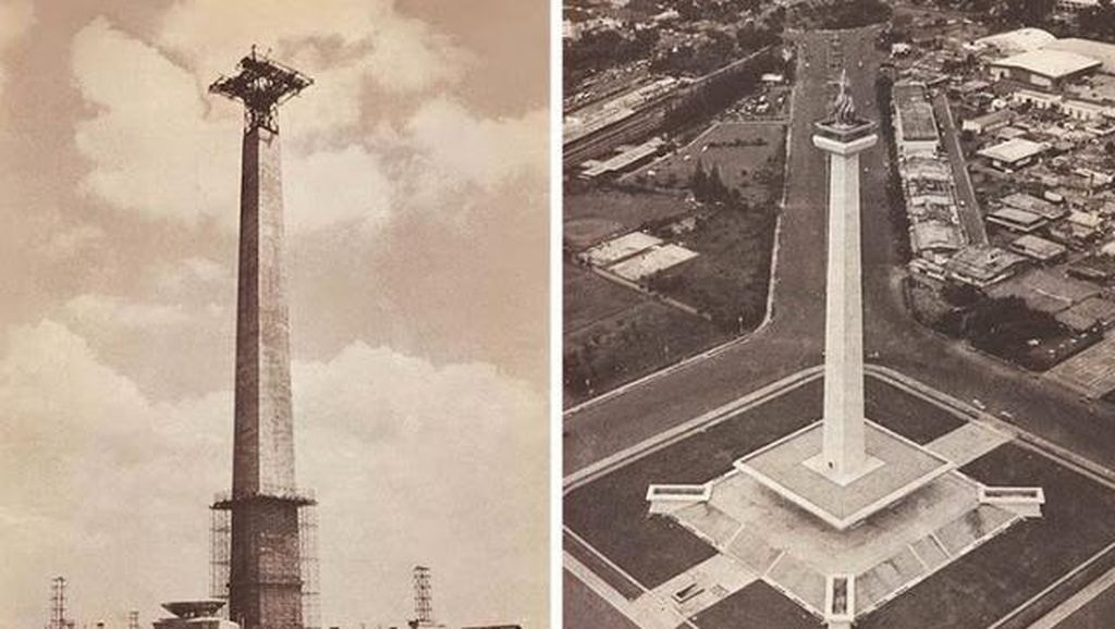 Pembangunan Monas dari Masa ke Masa