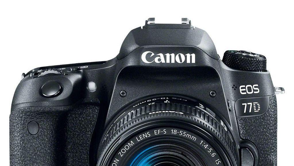 Canon 77D, DSLR Pemula Berteknologi Canggih