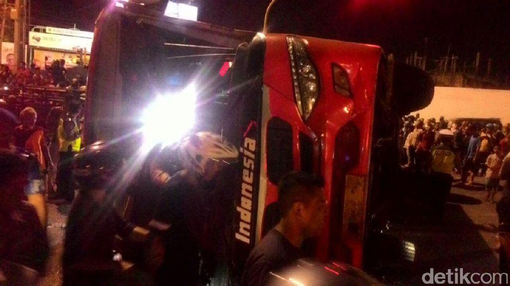 Bus PO Indonesia Ternyata Tak Alami Rem Blong