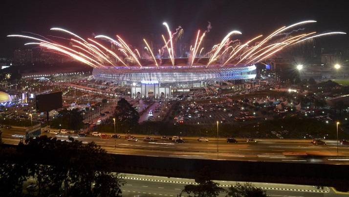 Pesta Kembang Api Tutup SEA Games 2017