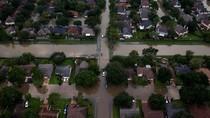 Badai Harvey Tewaskan 44 Orang di Texas, 980 Ribu Orang Dievakuasi