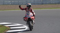 Saat Lorenzo Terbang dari Ducati di GP San Marino