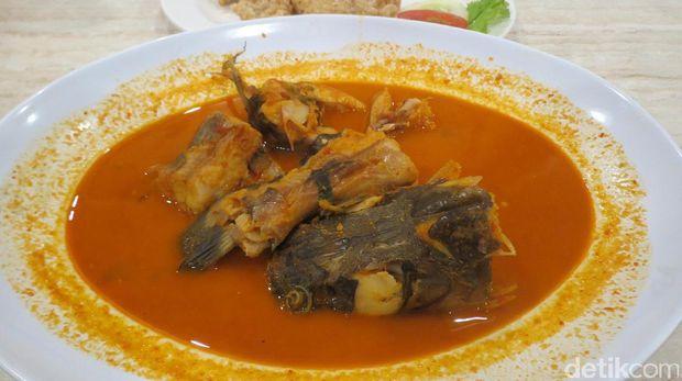 Gulai ikan asam pedas (Fitraya/detikTravel)
