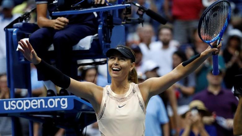 Sharapova Tarung Tiga Set untuk Maju ke Babak Ketiga
