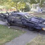 Toyota Camry Jadul Disulap Jadi Mobil Batman