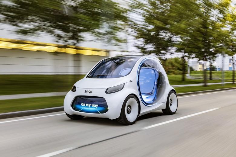 Mobil Listrik Mungil Ini Bisa Jalan Sendiri