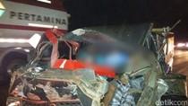 Tabrak Kendaraan Misterius, 3 Warga Prigen Tewas di Tol Sidoarjo