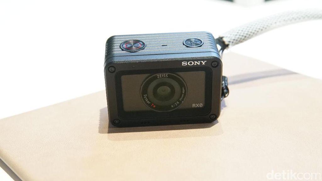 Sony Luncurkan Kamera Mini Penantang GoPro