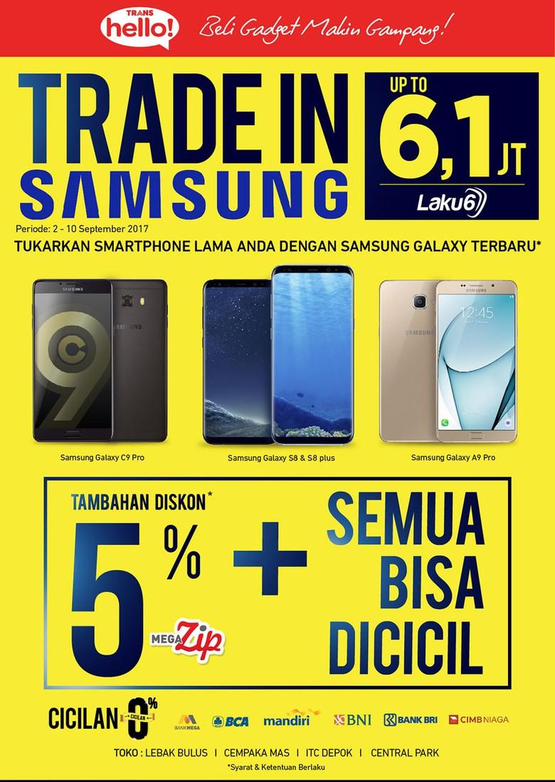 Tukar Tambah Smartphone di Trans Hello Transmart Carrefour