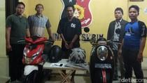 11 Kali Beraksi, Maling Curanmor Minimarket di Medan Dibekuk