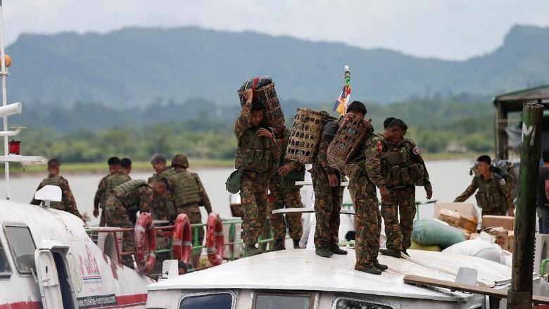 Begini Awal Mula Serangan Besar-besaran Militan Rohingya di Rakhine