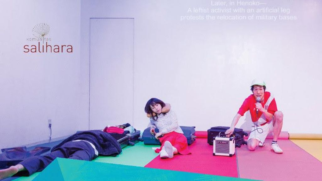 Okazaki Art Theatre Pentaskan Cerita tentang Imigran Jepang di Peru