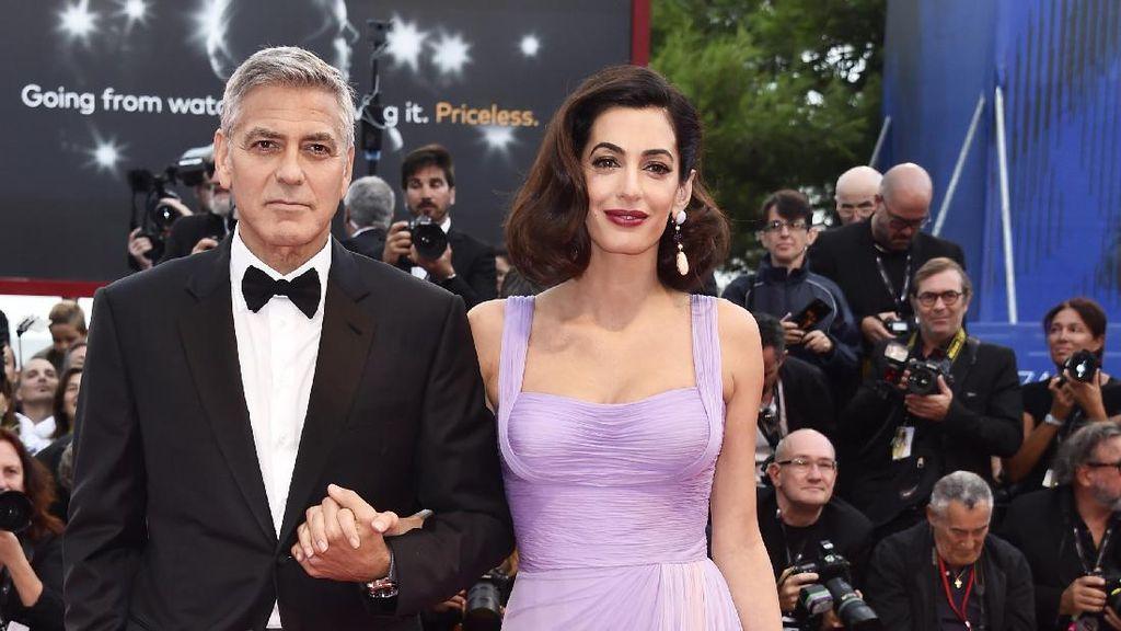 Curhat George Clooney tentang Hidup Barunya sebagai Ayah