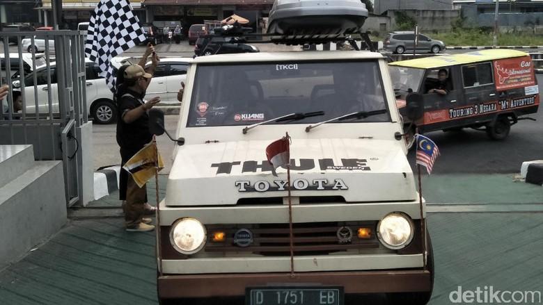 Beres Touring 3 Negara Pencinta Avanza dan Kijang Disambut di Jakarta