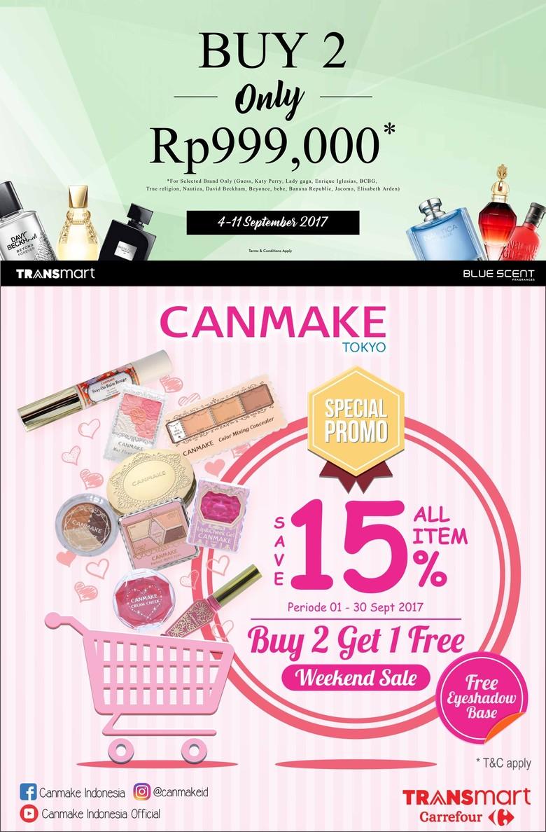 Transmart Carrefour Tawarkan Produk Kecantikan & Perawatan Tubuh