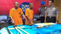Polres Boyolali Tangkap 2 Perampok Spesialis Minimarket di Jateng