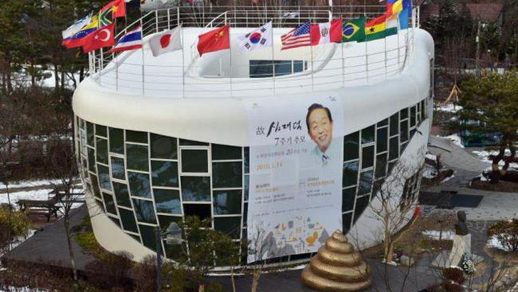 Ini Museum Berbentuk Jamban Raksasa di Korea Selatan