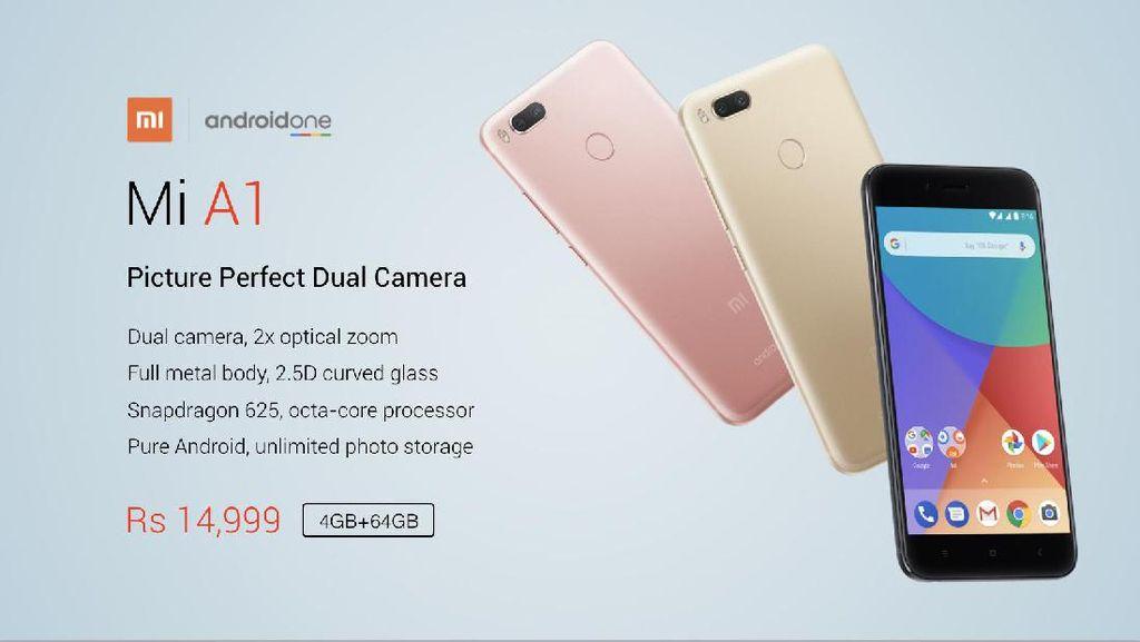 Android One Xiaomi Resmi Meluncur, Seperti Apa?