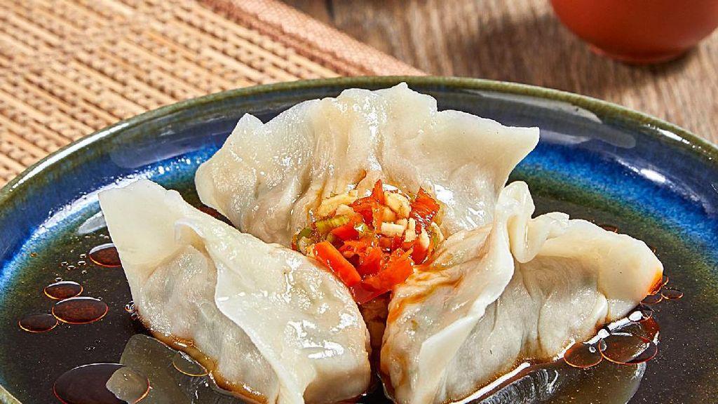 Resep Dim Sum: Chicken Szechuan And Vegetables Dumpling