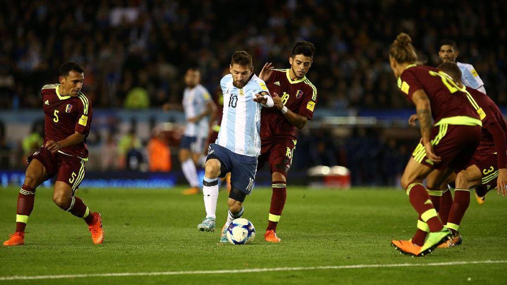 Argentina Ditahan Venezuela 1-1