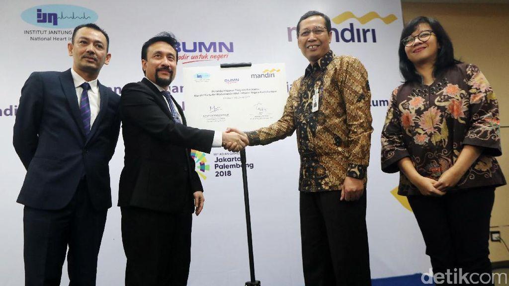 Bank Mandiri Gandeng IJN Kuala Lumpur