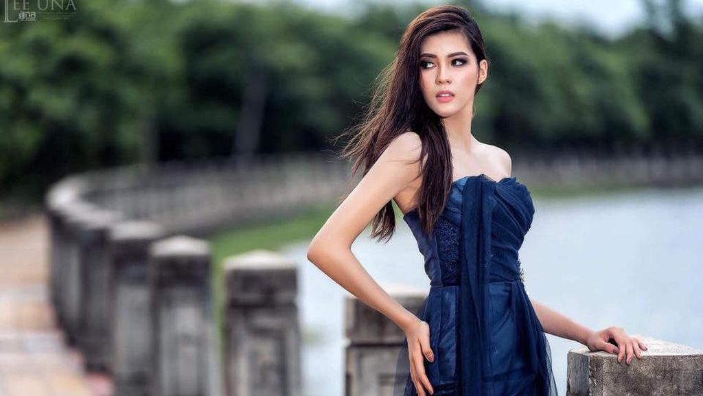 Cantik Banget, Wanita Ini Jadi Wakil Pertama Laos di Miss Universe 2017