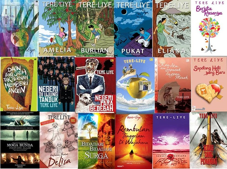 Buruan Koleksi.. Ini Buku Best Seller Tere Liye di Pasaran!